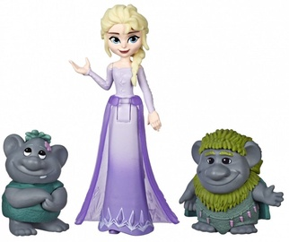 Hasbro Disney Frozen Elsa Small Doll With Troll Figures E7078
