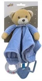 Игрушка для сна Tulilo Teddy Bear 5123A, кремовый/голубой