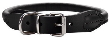 Hunter Round & Soft Dog Collar 55/10 Black