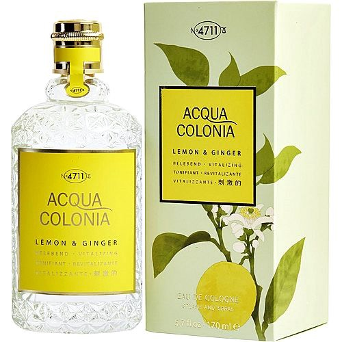 4711 Acqua Colonia Lemon & Ginger 170ml EDC Unisex