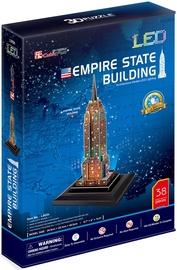 3D puzle Cubicfun Empire State Building LED, 38 gab.