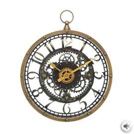 Wall Clock 169311 27cm Brown