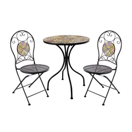 Home4you Morocco Balcony Furniture Set Mosaic