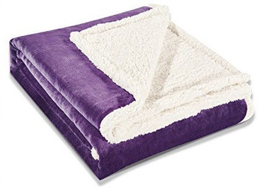 Pledas DecoKing Teddy Purple, 170x210 cm