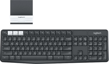 Logitech K375s Wireless Keyboard and Stand Combo EN/RUS Black