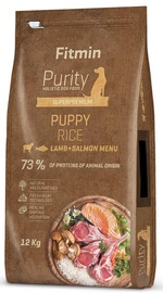 Fitmin Purity Puppy Rice Lamb & Salmon 12kg