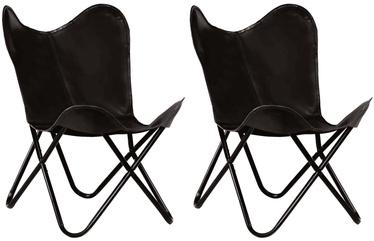Детский стул VLX Butterfly Chairs 279527, черный, 560 мм x 760 мм