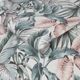 Tapetas flizelino pagrindu, Graham & Brown, 107009, Paradise, baltas su žaliais lapais