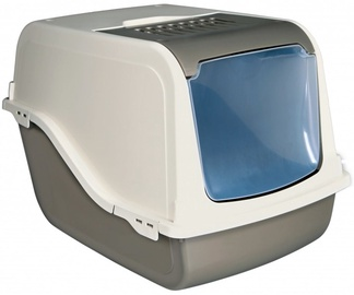 Trixie 40287 Dano Open Top Cat Litter Tray with Dome