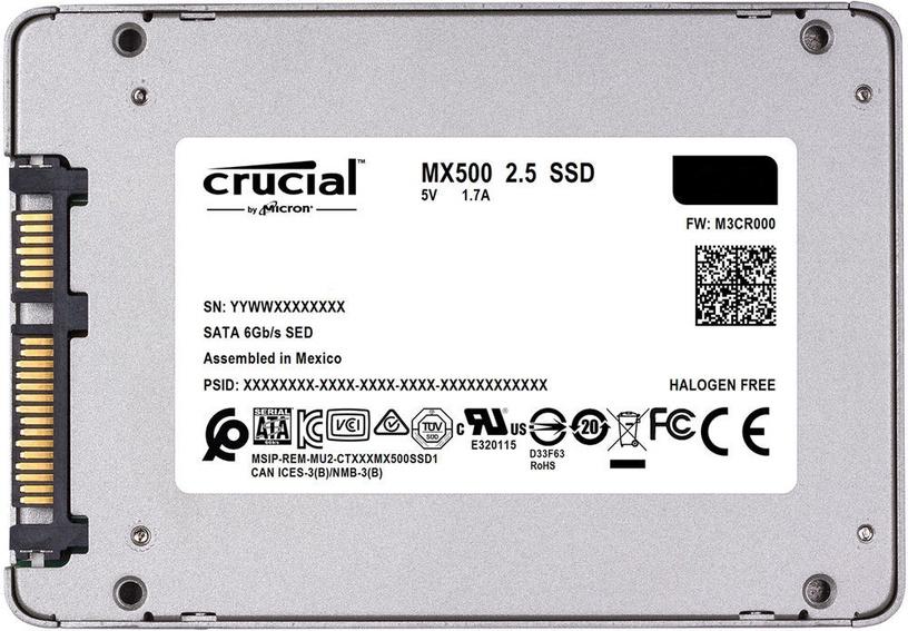 """Crucial MX500 1TB 2.5"""" SSD CT1000MX500SSD1"""