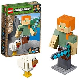 Konstruktorius LEGO Minecraft Alex BigFig With Chicken 21149