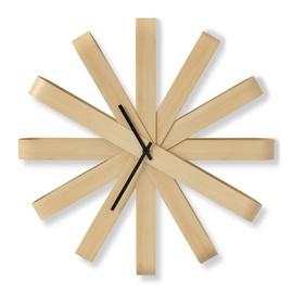 Umbra Ribbon Wall Clock Wood