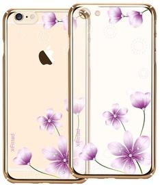 X-Fitted Secret Fragrance Swarovski Crystals Back Case For Apple iPhone 6/6s Gold