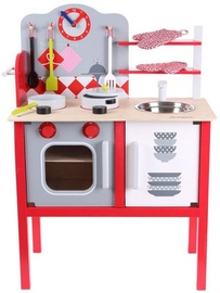 EcoToys Wooden Play Kitchen 4201