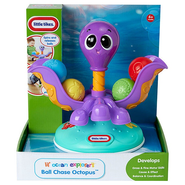 Little Tikes Lil' Ocean Explorers Ball Chase Octopus 638503