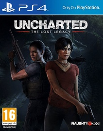 Uncharted: The Lost Legacy Incl. Russian Audio PS4