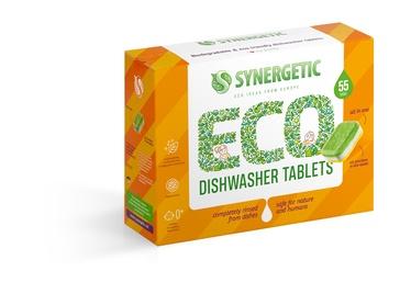 Капсулы для посудомоечной машины Synergetic Eco Ideas From Europe, 55 шт.