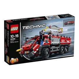 Konstruktorius LEGO Technic, Oro uosto gelbėjimo automobilis 42068