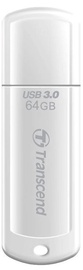 Transcend 64GB JetFlash 730 USB 3.0 White