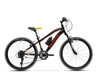 "Lombardo Bikes Tropea 24"" Black/Yellow/Red 13.5"""
