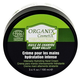 Organix Cosmetix Hemp Valley Protective Hand Cream With Organic Hemp Oil 100ml