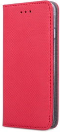 OEM Smart Magnet Book Case For Samsung Galaxy A21s Red