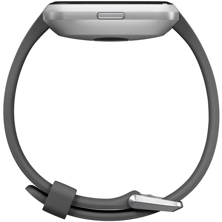 Fitbit Versa Lite Edition Charcoal Silver Aluminium