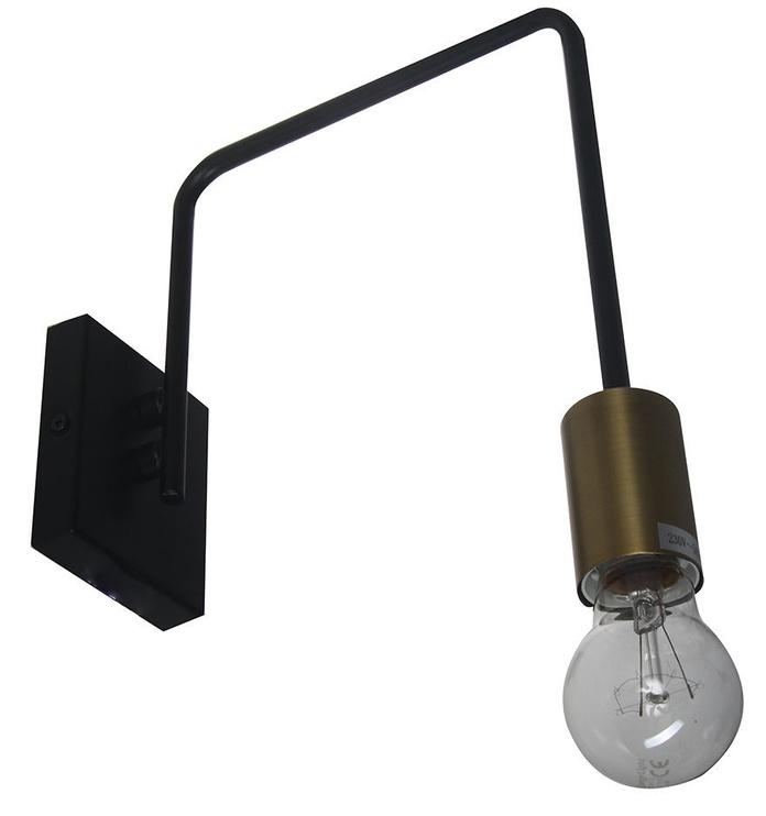 Verners Sticker Wall Lamp 60W E27 Black