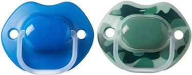 Tommee Tippee Urban Style Orthodontic Soothers 2pcs Blue Green 6-18m