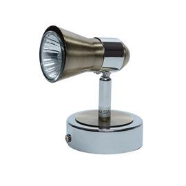 Kryptinis šviestuvas GU1043A-1R, 50W, GU10+1L