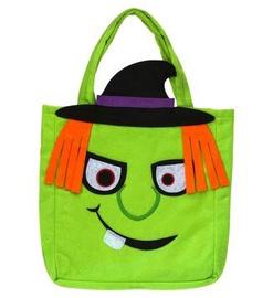 Helovīna soma saldumiem, zaļa