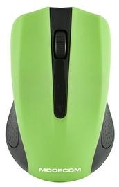 Kompiuterio pelė Modecom MC-WM9 Black/Green, bevielė, optinė