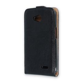 Mocco Vertical Leather Case For Samsung Galaxy J5 J530 Black
