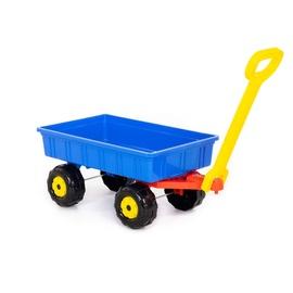Liivakasti mänguasjade komplekt Polesie Trolley, sinine/must/punane/kollane