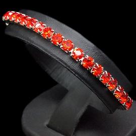 Diamond Sky Bracelet Arabica III Light Siam With Swarovski Crystals
