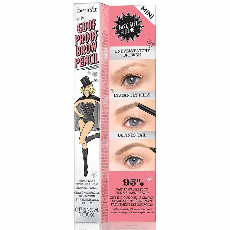 Benefit Goof Proof Brow Easy Shape & Fill Pencil Mini 0.17g 02