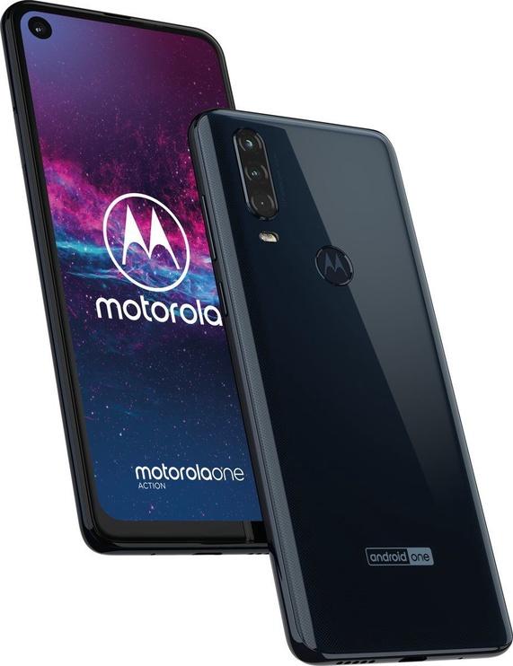 Motorola One Action Dual Denim Blue