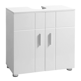 Songmics Washbasin Cabinet White Matt 60x60cm