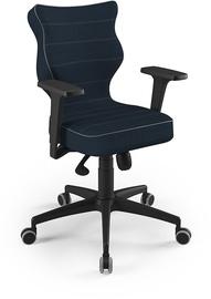 Entelo Perto Black Office Chair TW24 Navy Blue
