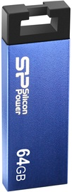 USB-накопитель Silicon Power Touch 835, синий, 64 GB