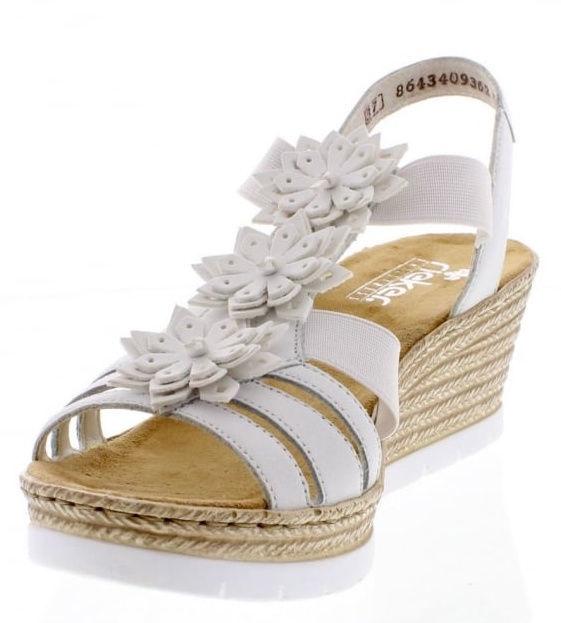 Rieker 61949 Sandals White 36