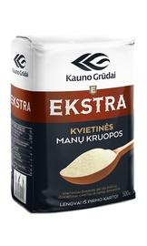 Manų kruopos Ekstra Kauno grūdai, 0,5 kg