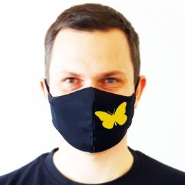 Daugkartinė veido kaukė Butterfly