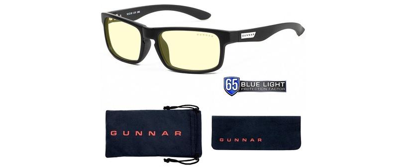Gunnar Enigma Gaming Glasses Amber Black