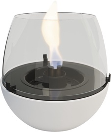 TenderFlame Table Burner Tulip 3W 18cm White