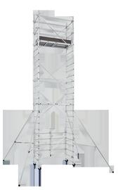 Pastolinių kopėčių išplėtimo rinkinys Speedy 3 Pack 4, 5.20m