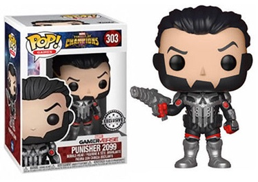Funko Pop! Games Marvel Contest Of Champions Punisher 2099 Exclusive 303