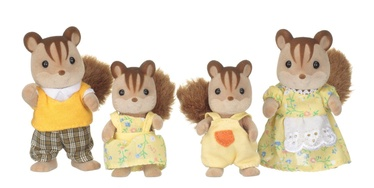 Epoch Sylvanian Families Walnut Squirrel Family 3136