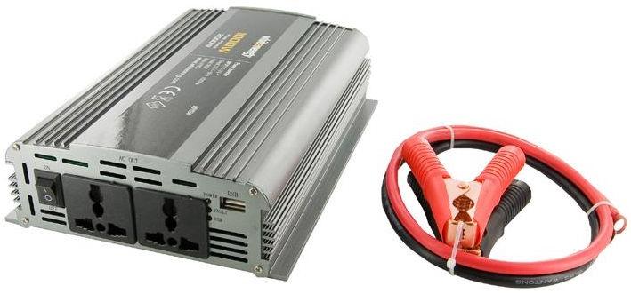 Whitenergy Power Inverter 12V DC To 230V AC 1000W