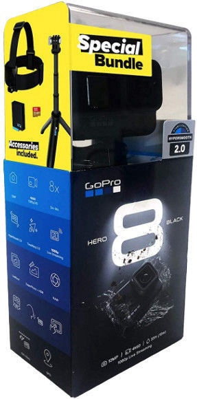 Seikluskaamera Gopro Hero 8 Holiday bundle 2019